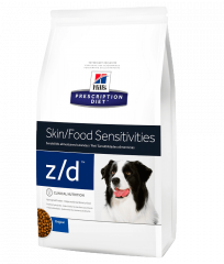 z/d™ Canino – Pele / Hipersensibilidade Alimentar – Seco